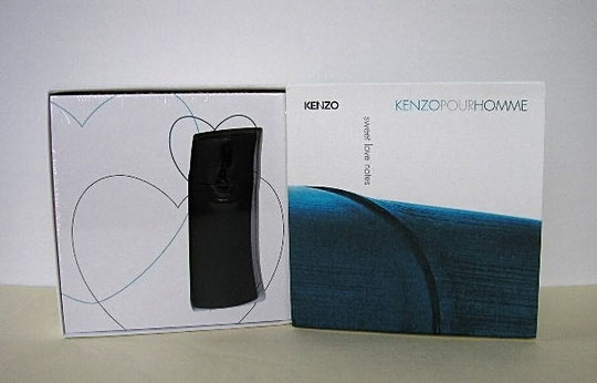 "2006 - COFFRET KENZO POUR HOMME ""SWEET LOVE NOTES"""