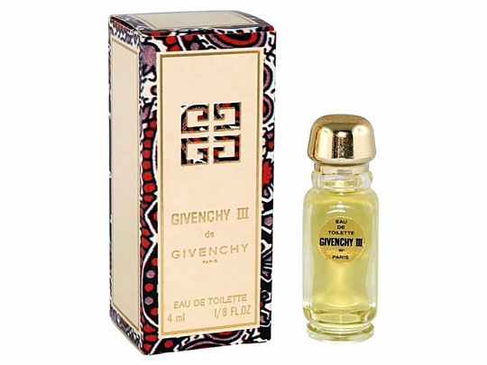 GIVENCHY III - EAU DE TOILETTE 4 ML