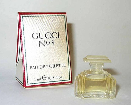 GUCCI - N° 3 EAU DE TOILETTE 1 ML