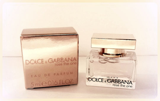 DOLCE & GABBANA - ROSE THE ONE, EAU DE PARFUM 5 ML