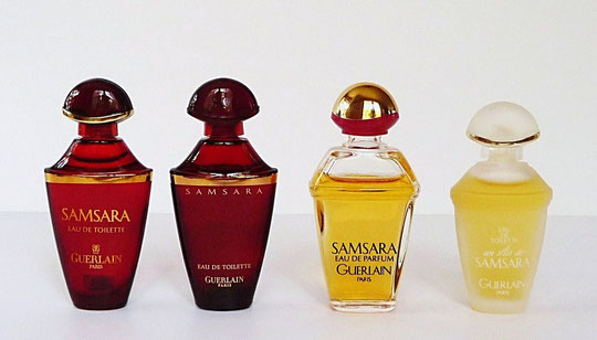 4 MINIATURES DIFFERENTES POUR SAMSARA & UN AIR DE SAMSARA
