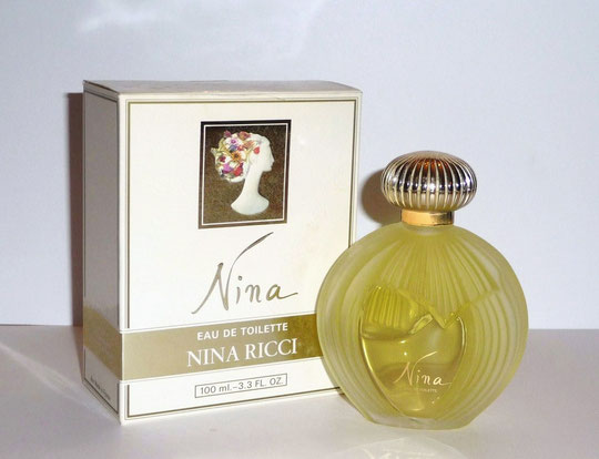 NINA 1ère VERSION - FLACON EAU DE TOILETTE 100 ML - CREATION LALIQUE
