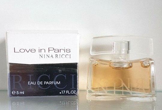2007 - LOVE IN PARIS - EAU DE TOILETTE 5 ML - 1ère BOÎTE