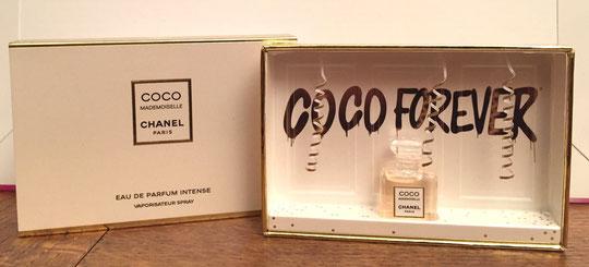 COCO MADEMOISELLE OU COCO FOREVER : LE COFFRET ET SA MINIATURE