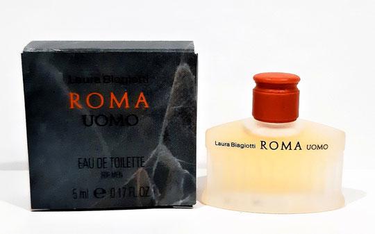 LAURA BIAGIOTTI - ROMA : EAU DE TOILETTE FOR MEN : 45 ML