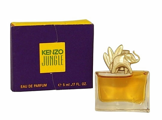 KENZO JUNGLE - L'ELEPHANT : EAU DE PARFUM 5 ML - MINIATURE IDENTIQUE A CELLE DE LA PHOTO PRECEDENTE