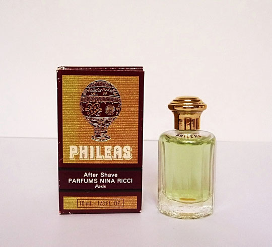 PHILEAS - AFTER SHAVE 10 ML : BOÎTE ASSORTIE A CELLE DE L'EAU DE TOILETTE