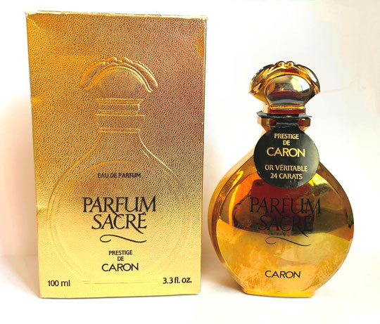 PARFUM SACRE - FLACON IDENTIQUE A LA PHOTO PRECEDENTE