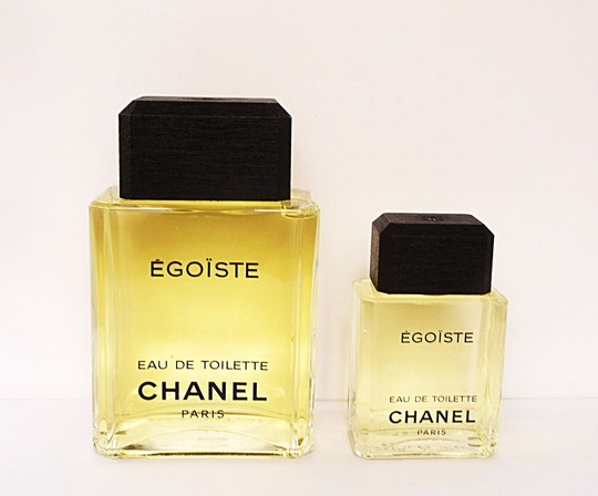 EGOÏSTE :  2 FLACONS FACTICES EAU DE TOILETTE 250 ML & 50 ML