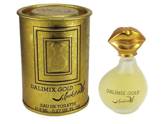 DALIMIX GOLD - EAU DE TOILETTE 8 ML : DANS BOÎTE RONDE  EN METAL