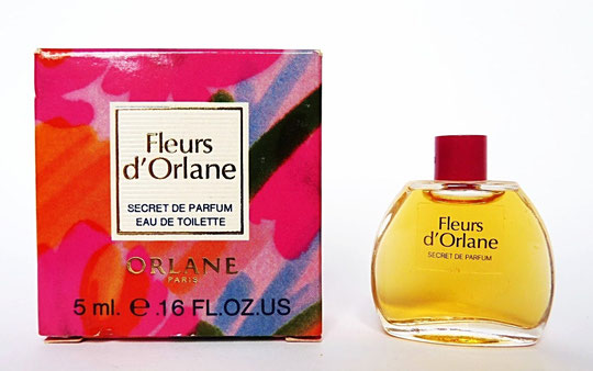 ORLANE - FLEURS D'ORLANE - SECRET DE PARFUM EAU DE TOILETTE 5 ML
