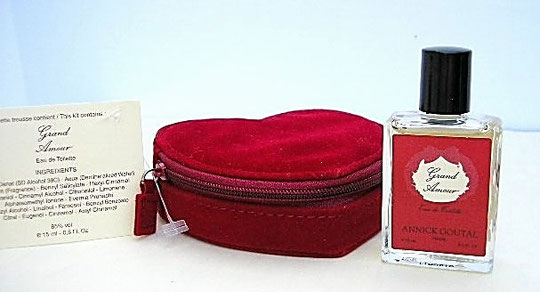 ST-VALENTIN 2006 - MINIATURE GRAND AMOUR, EAU DE TOILETTE 15 ML