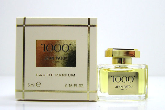 "JEAN PATOU - ""1000"" : EAU DE TOILETTE 3 ML"