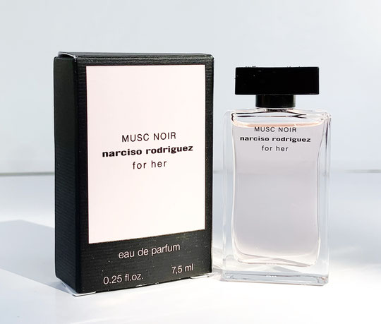 2021 - NARCISO RODRIGUEZ FOR HER : MUSC NOIR, EAU DE PARFUM 7,5 ML