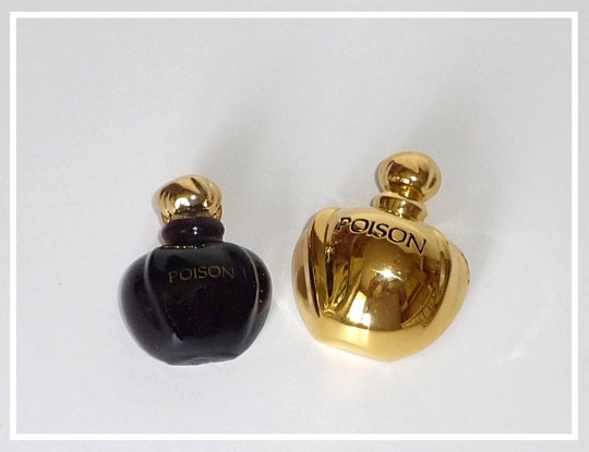 CHRISTIAN DIOR - POISON : 2 BROCHES DIFFERENTES