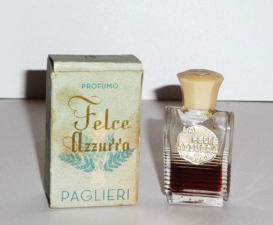PAGLIERI - FELCE AZZURRA,  PROFUMO - ORIGINE ITALIENNE