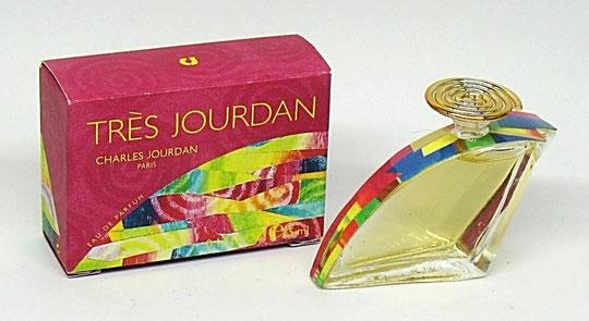 JOURDAN CHARLES - TRES JOURDAN : EAU DE PARFUM - MINIATURE EN FORME DE CHAUSSURE