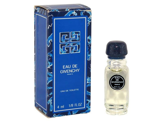 EAU DE GIVENCHY - EAU DE TOILETTE 4 ML - BOÎTE DIFFERENTE