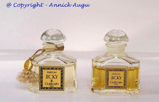 JICKY - 2 FLACONS DE PARFUM 15 ML - AVEC ETIQUETTES DIFFERENTES