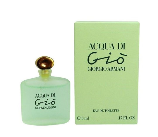 GIORGIO ARMANI - ACQUA DI GIO : EAU DE TOILETTE 5 ML - MINIATURE IDENTIQUE A LA PRECEDENTE PHOTO