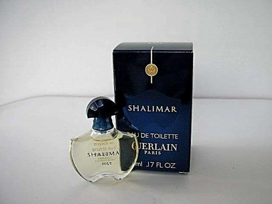 2008 - SHALIMAR : EAU DE TOILETTE 5 ML - NOUVELLE PRESENTATION DANS GRANDE BOÎTE DITE STANDARD