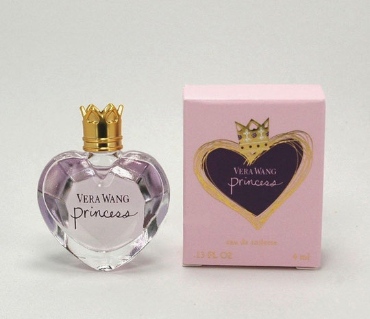 VERA WANG - PRINCESS : EAU DE TOILETTE 4 ML :  MINIATURE IDENTIQUE A CELLE DE LA PHOTO PRECEDENTE