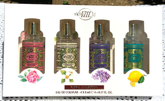 "2020 - COFFRET N° 4711 ""FLORAL COLLECTION"" COMPORTANT 4 MINIATURES SANS BOÎTE"
