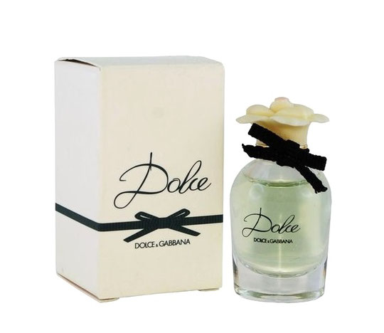 DOLCE & GABBANA - DOLCE, MINIATURE AVEC NOEUD TISSUS