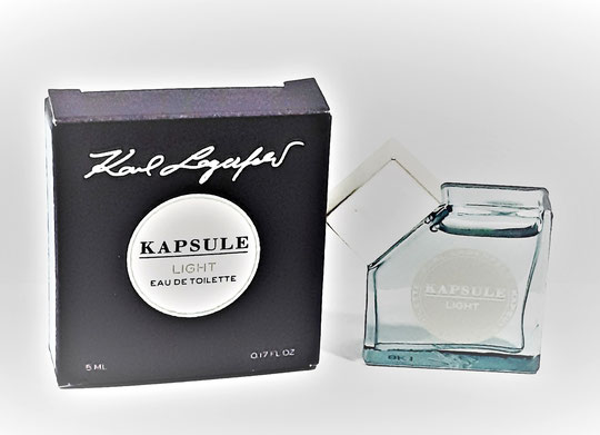 KARL LAGERFELD - KAPSULE LIGHT : EAU DE TOILETTE 5 ML - MINIATURE IDENTIQUE A LA PHOTO PRECEDENTE
