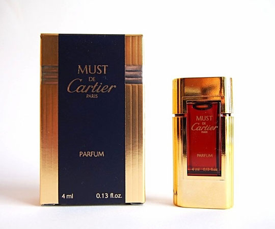 CARTIER - MUST : PARFUM 4 ML - PRESENTATION DIFFERENTE