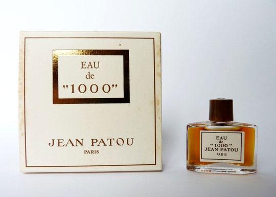 """EAU DE """"1000"""" de JEAN PATOU"""