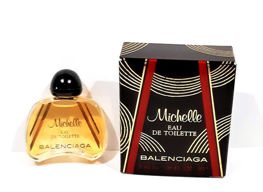 MICHELLE - EAU DE TOILETTE 5 ML : MINIATURE IDENTIQUE A CELLE DE LA PHOTO PRECEDENTE