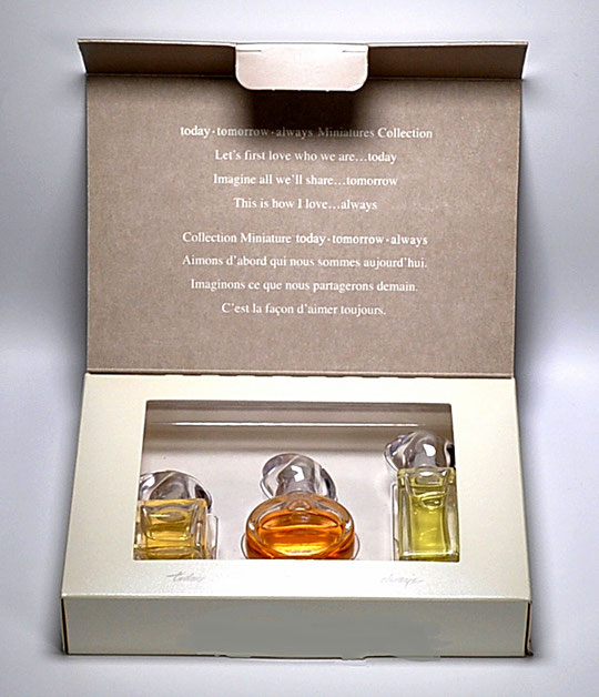 AVON - COFFRET DE 3 MINIATURES :  TODAY, TOMORROW, ALWAYS