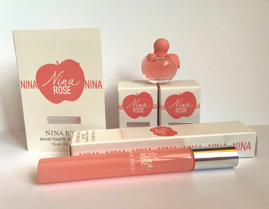 2020 - NINA ROSE  : ENSEMBLE DE MINIATURES & ECHANTILLONS