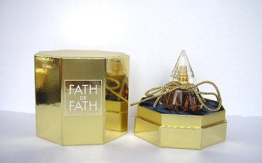 FATH DE FATH : PARFUM EXTRAIT - PRESENTATION DANS LUXUEUX COFFRET OR