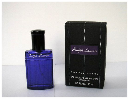 2005 - RALPH LAUREN - PURPLE LABEL : VAORISATEUR EAU DE TOILETTE 15 ML