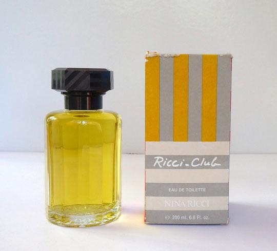 RICCI-CLUB - FLACON FACTICE EAU DE TOILETTE 200 ML & SA BOÎTE