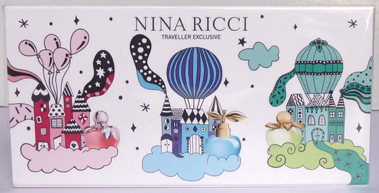 "2019 - COFFRET ""LES BELLES DE NINA"" COMPORTANT 3 MINIATURES DIFFERENTES : BELLA, LUNA & NINA"