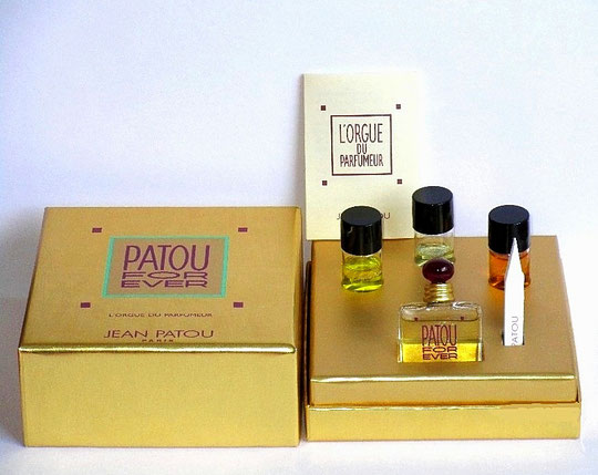 JEAN PATOU - L'ORGUE DU PARFUMEUR : FRAGRANCE PATOU FOR EVER