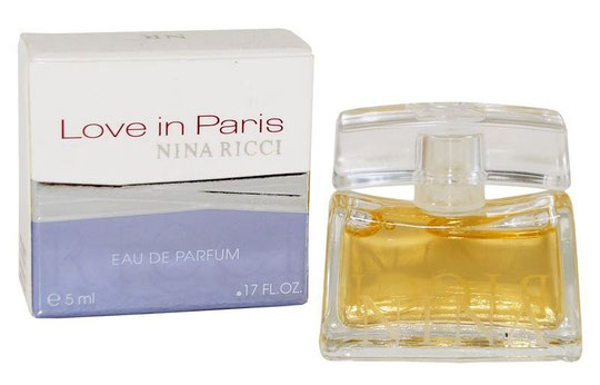 2007 - LOVE IN PARIS - EAU DE PARFUM 5 ML - 3ème BOÎTE
