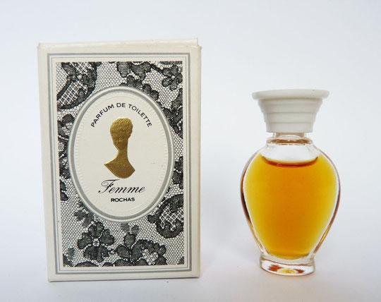 FEMME - PARFUM DE TOILETTE  : AMPHORE LARGE SANS SERIGRAHIE, BOUCHON PLASTIQUE BLANC VISSE