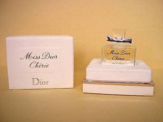 MISS DIOR CHERIE - EAU DE PARFUM - COFFRET DE LANCEMENT EN 2005