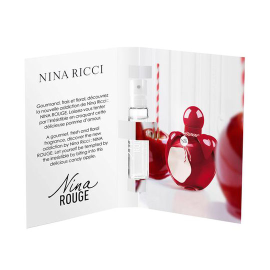 2019 - NINA ROUGE ECHANTILLON TUBE
