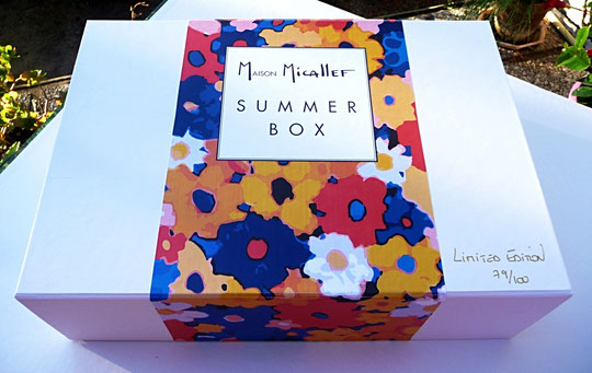 SUMMER BOX EN EDITION LIMITEE : 74/100 - 2018
