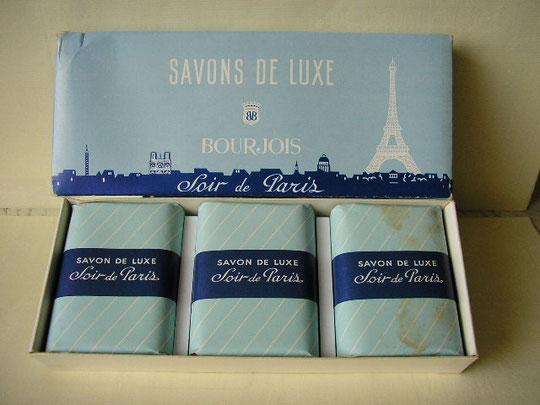 BOURJOIS - SOIR DE PARIS : COFFRET SAVONS DE LUXE
