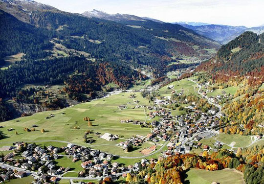 klosters in prättigau valley