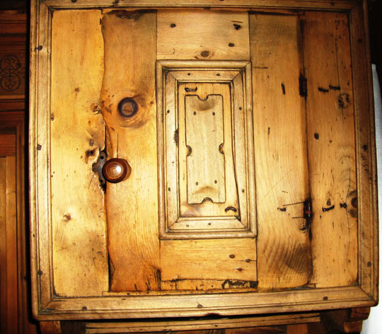 old cupboard door