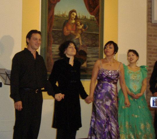 19 Settembre - Interpreti del Concerto Lirico a Casa Beata Vergine delle Grazie