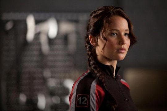 La protagonista del film Hunger Games