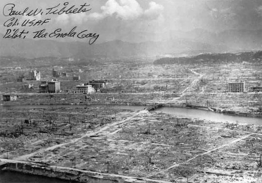 Hiroshima après la bombe